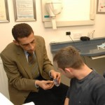 patient discussion at Cottage Dental, Swindon